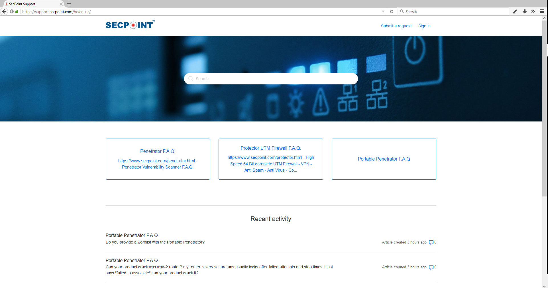 SecPoint Help Desk